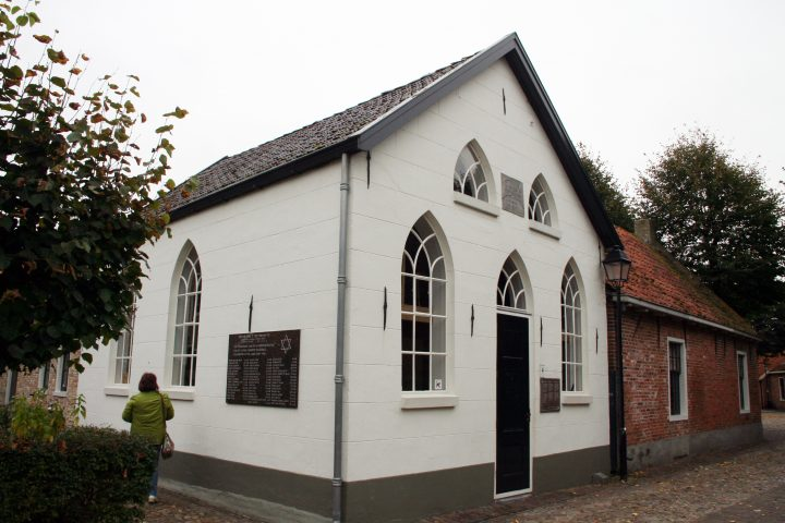 In der Festung Bourtange gibt es seit 1842 eine kleine Synagoge